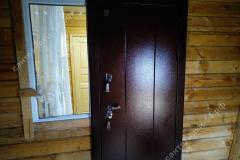 Установка стальной двери с терморазрывом